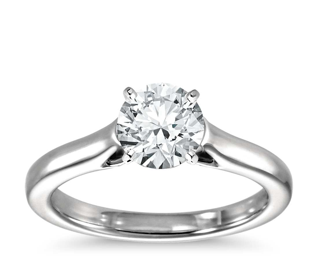 wedding engagement white rings halo solitaire plated round rhodium double accent cz ring gold