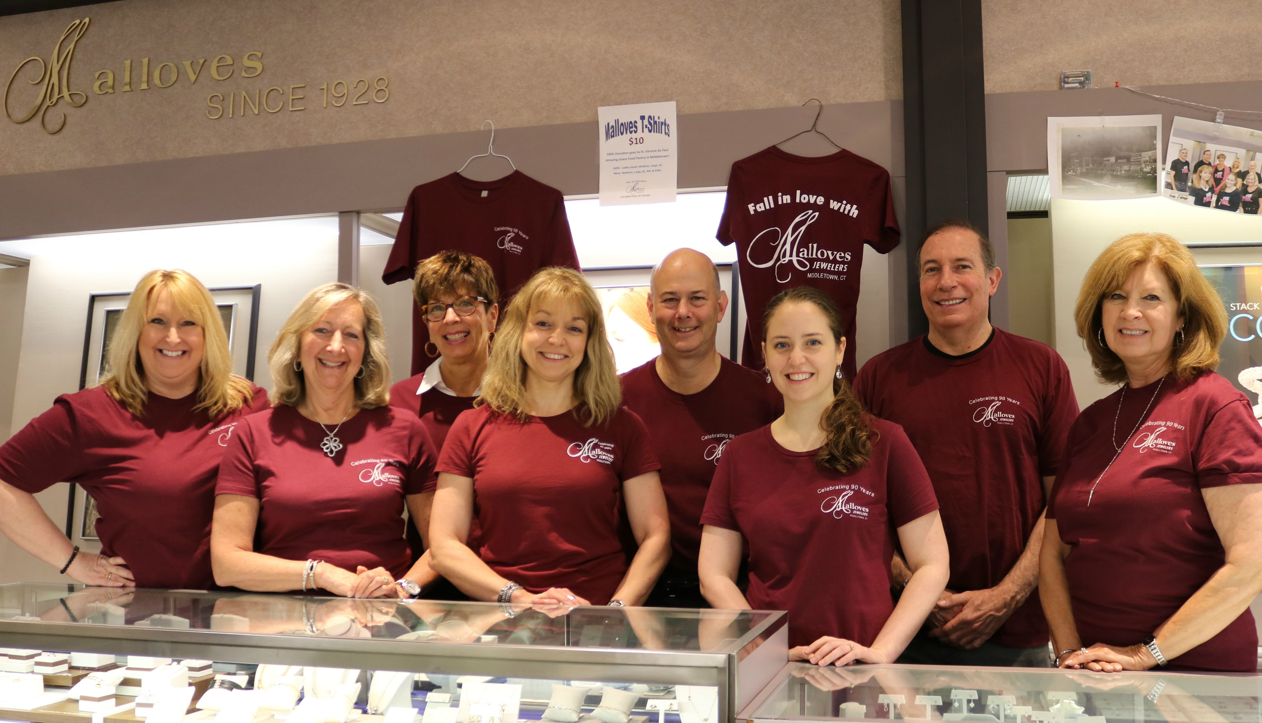 Malloves Jewelry 90 Years Of Excellent Service